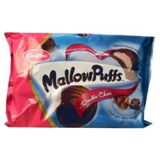 Griffins Mallowpuffs Chocolate Biscuits Double Choc双层巧克力泡芙饼干200克
