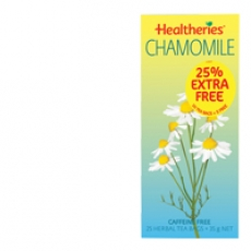 Healtheries Herbal Tea Chamomile贺寿利甘菊茶包25个