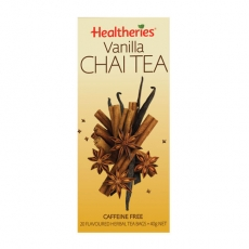 Healtheries Chai Tea Bags Vanilla贺寿利香草泰茶包20个