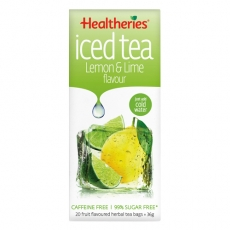 Healtheries Iced Tea Bags Lemon & Lime贺寿利青柠柠檬冰茶包20个