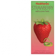 Healtheries Fruit Tea Strawberry With A Lime Twist贺寿利草莓青柠水果茶包20个