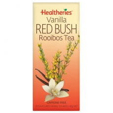Healtheries Herbal Tea Bags Rooibos Vanilla贺寿利香草根茶包20个