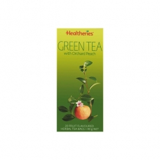 Healtheries Green Tea Bags With Peach贺寿利甜梨绿茶茶包20个