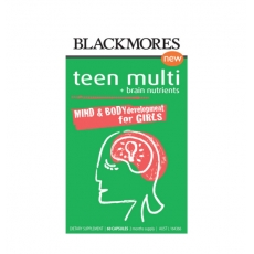 Blackmores Teen Multi +Brain Nutrients Girls 60s澳佳宝女孩复合营养素 60粒